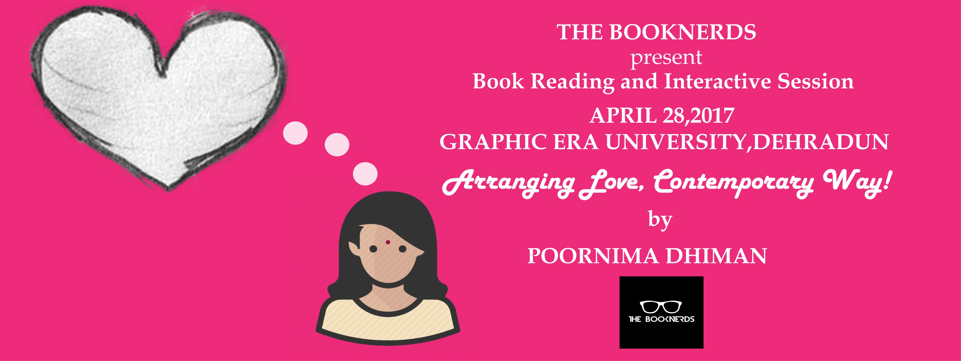 Book Reading and Interactive Session with Poornima Dhiman