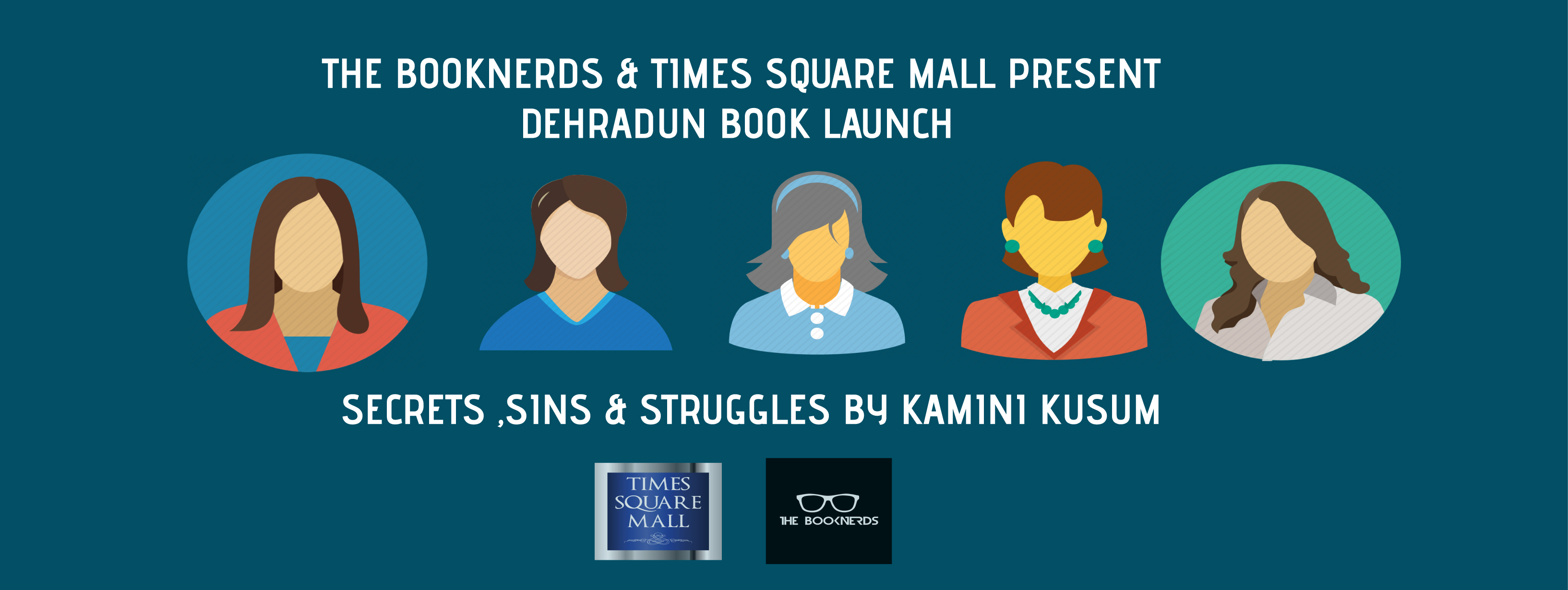 Book Launch:Secrets,Sins & Struggles by Kamini Kusum