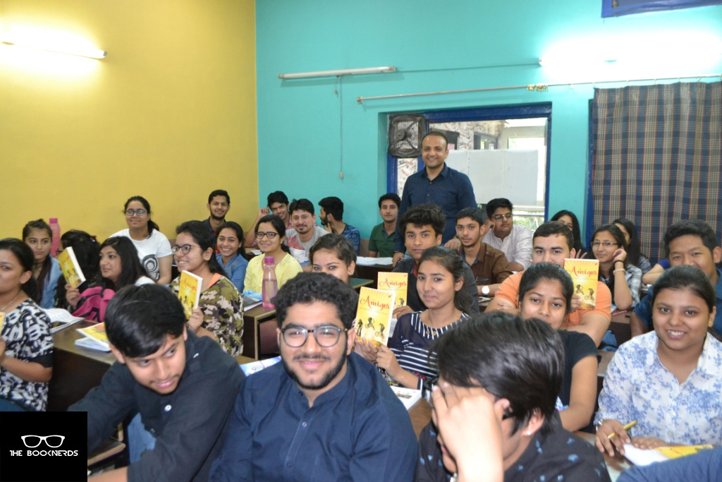 Dehradun Book Tour Day 2:The Amigos by Tanmay Dubey