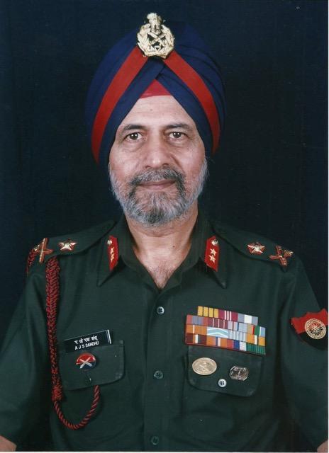 Major General AJS Sandhu