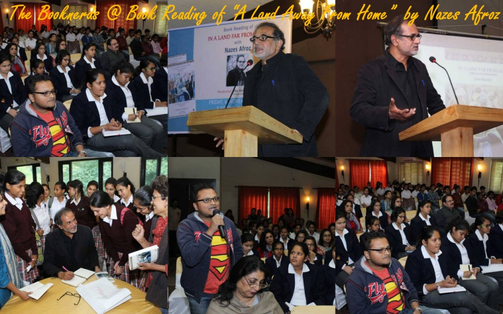 The Booknerds @ Book reading by Nazez Afroz