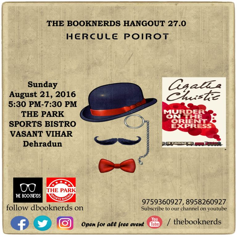 Hangout 27.0  Book Reading:Murder on the Orient Express by Agatha Christie
