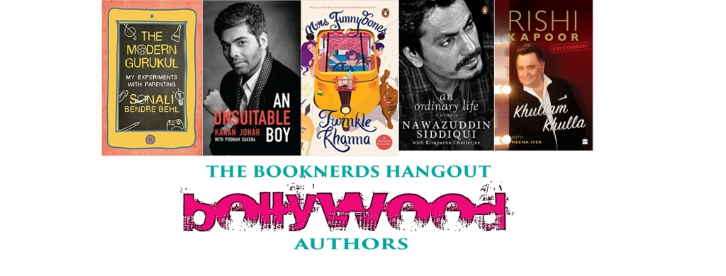 The Booknerds Hangout:Bollywood Authors
