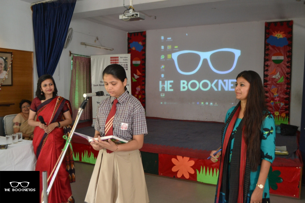 Lucknow Book Tour:Day 2:Springdale College,LDA Colony