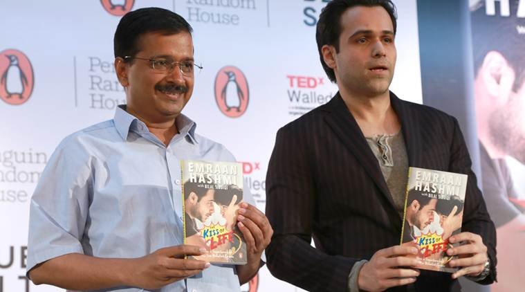 Arvind Kejriwal launches Emraan Hashmi's book on son defeating cancer