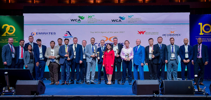 WCA BEST PARTNERS AWARDS 2017