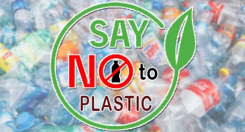 Say No to Single Use Plastic