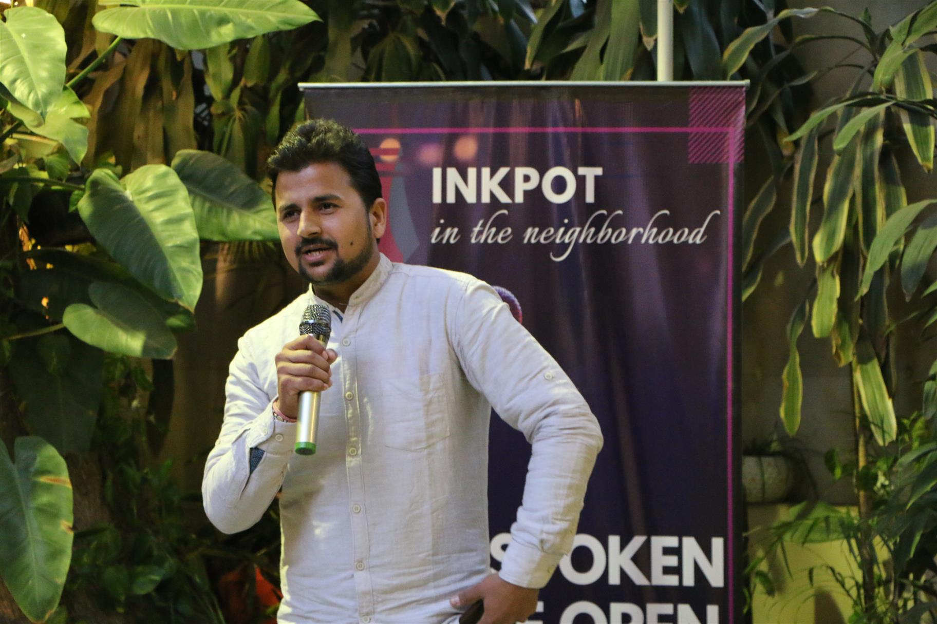 Inkpot in the Neighbourhood, Outspoken in the Open