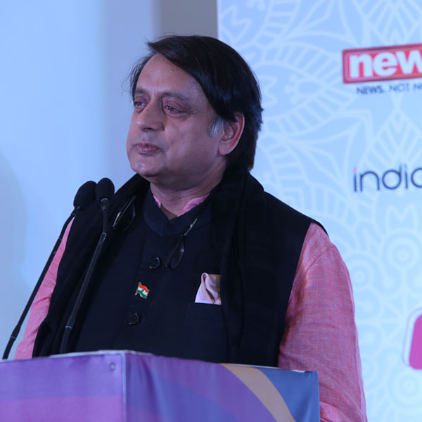 Dr. Shashi Tharoor-Author, Politician and Former International Civil Servant