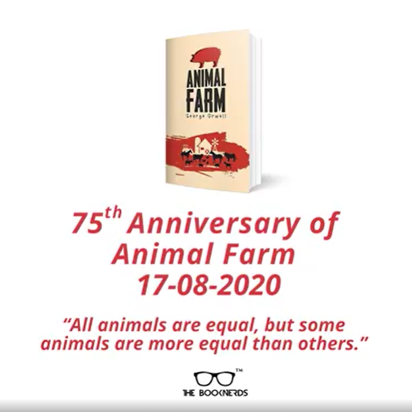 75th anniversary of George Orwell's Animal Farm