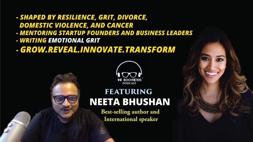 Booknerds Podcast featuring Neeta Bhushan