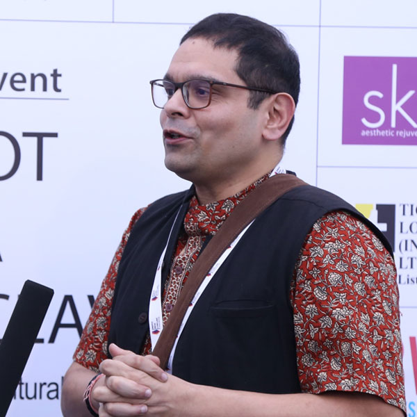Sharif D Rangnekar-Author & Festival Director, Rainbow Li Fest