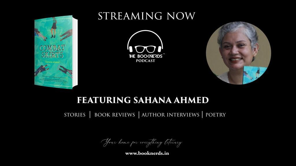 Booknerds Podcast featuring author Sahana Ahmed