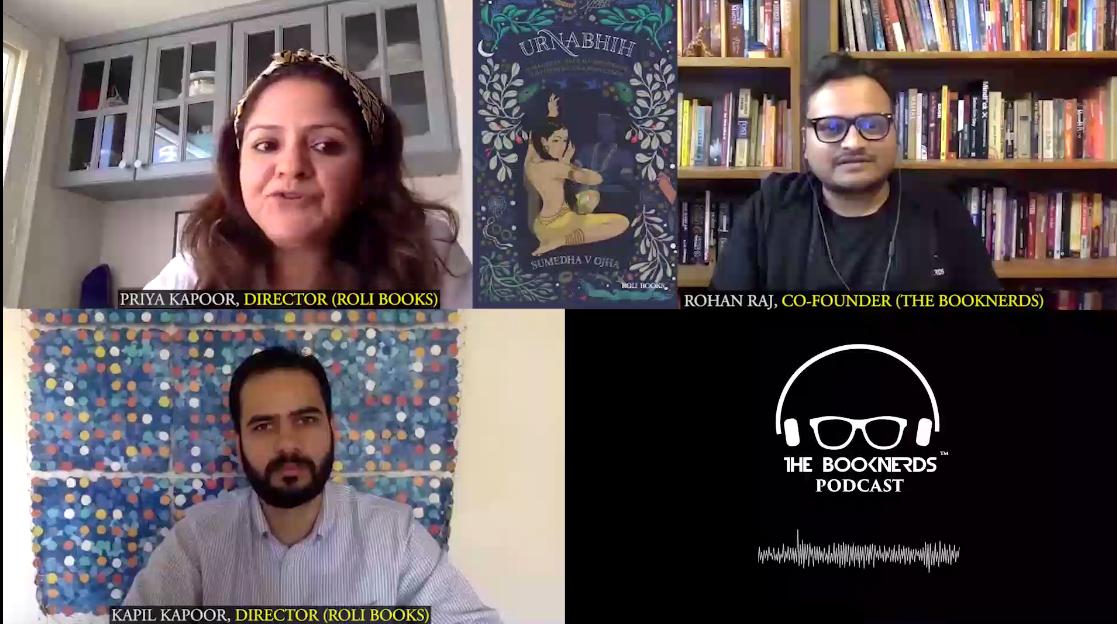 Booknerds Podcast featuring Priya Kapoor and Kapil Kapoor (Directors, Roli Books)