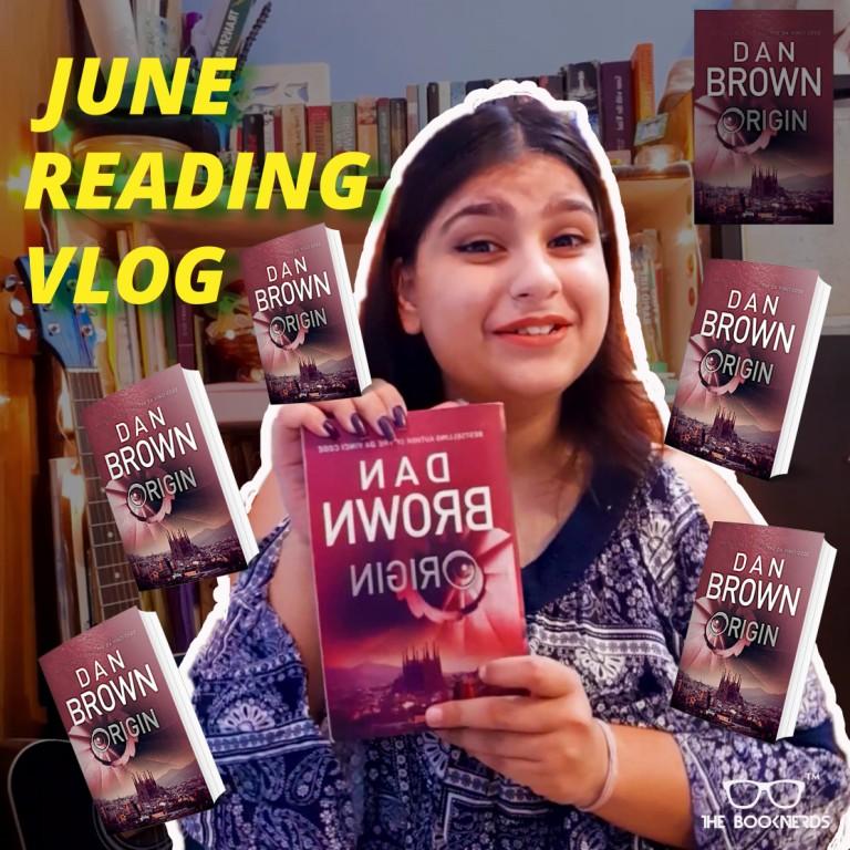 Booknerds Monthly Reading Vlog:June 2020