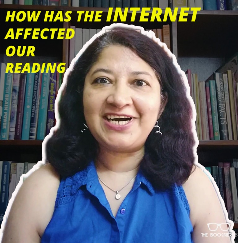 How the Internet has affected our reading!