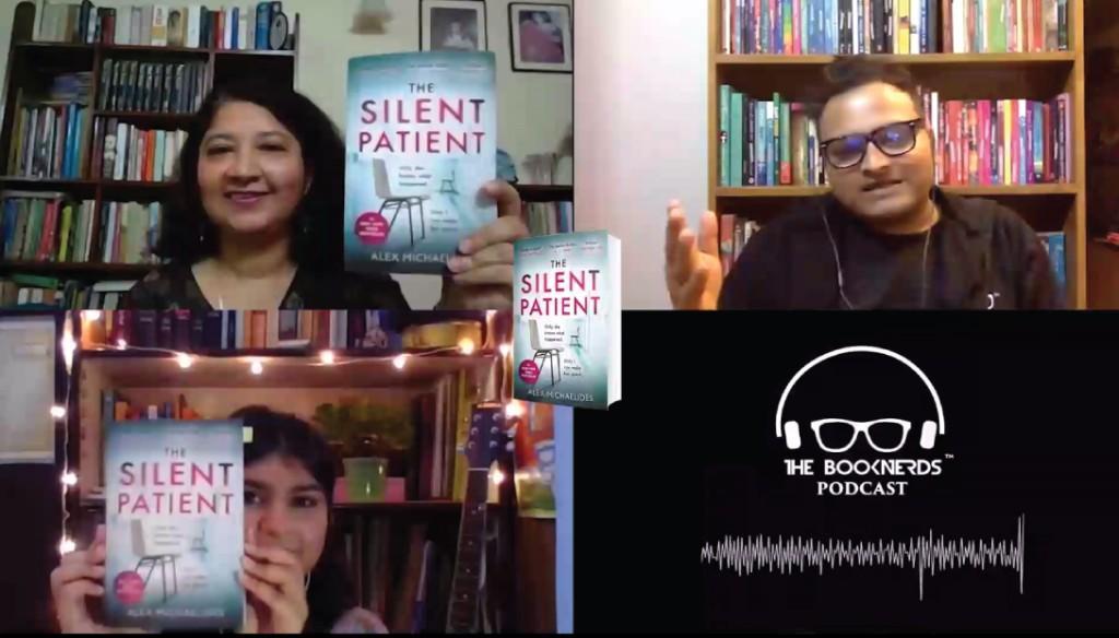 Booknerds Podcast featuring The Silent Patient by Alex MIchaelides