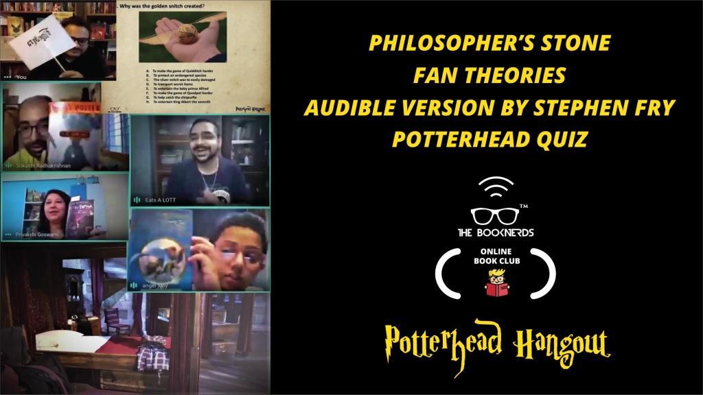 Booknerds Online Book Club Potterhead Hangout