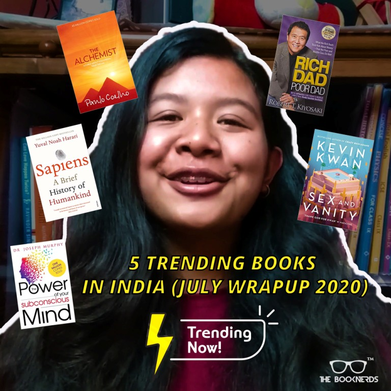 5 Trending Books in India(JULY WRAPUP 2020)