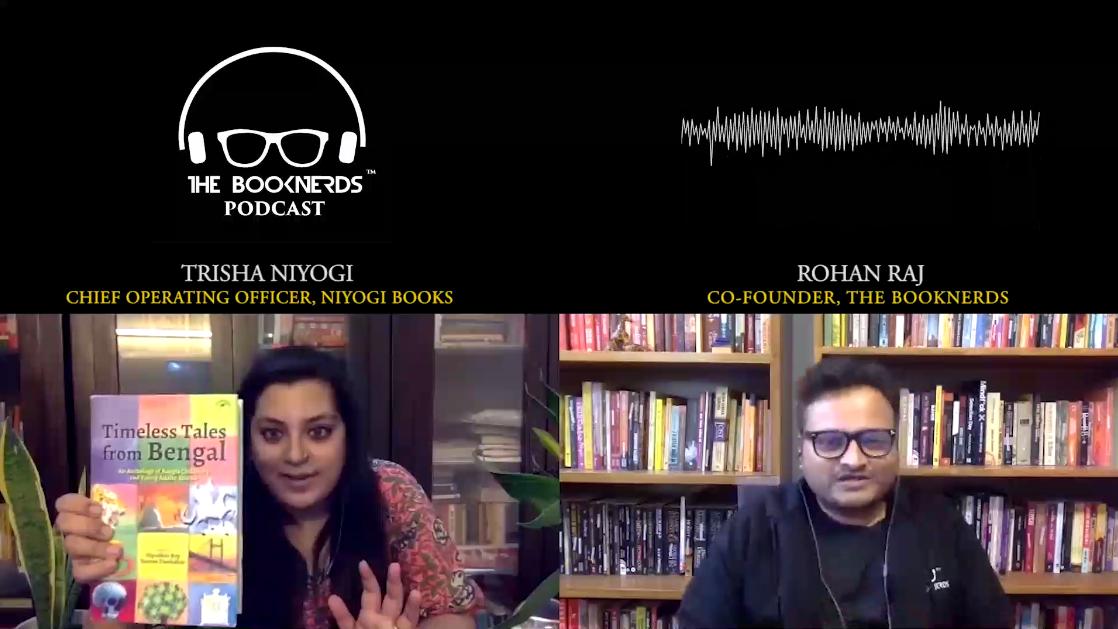 Booknerds Podcast featuring Trisha Niyogi (Chief Operating Officer, Niyogi Books)