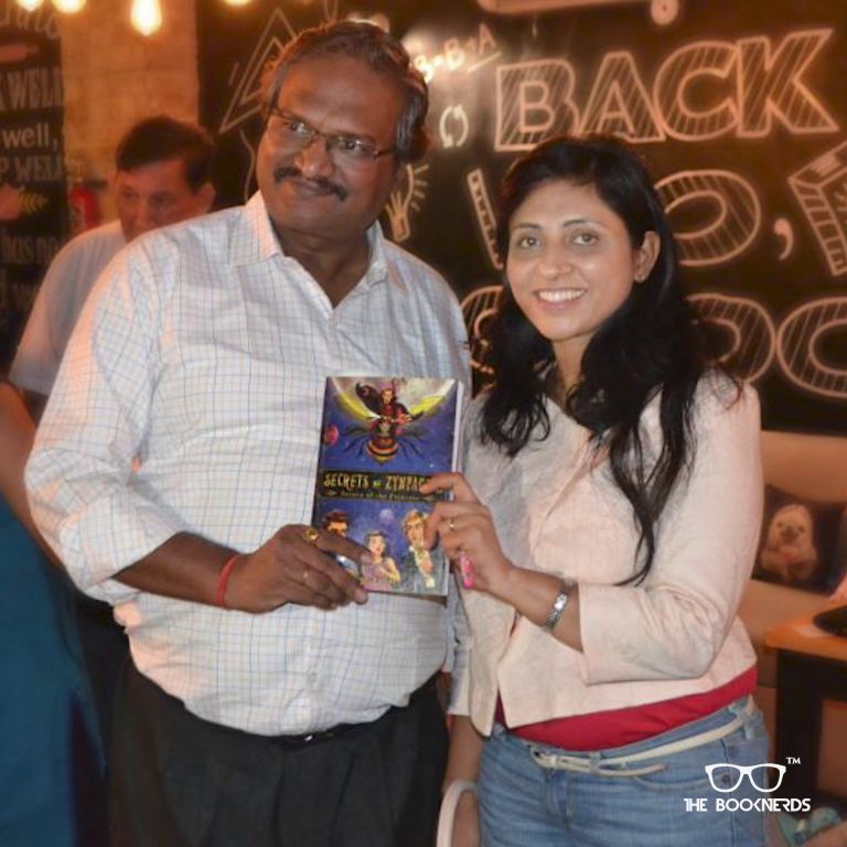 Throwback to The Booknerds Hangout featuring author Ilika Ranjan