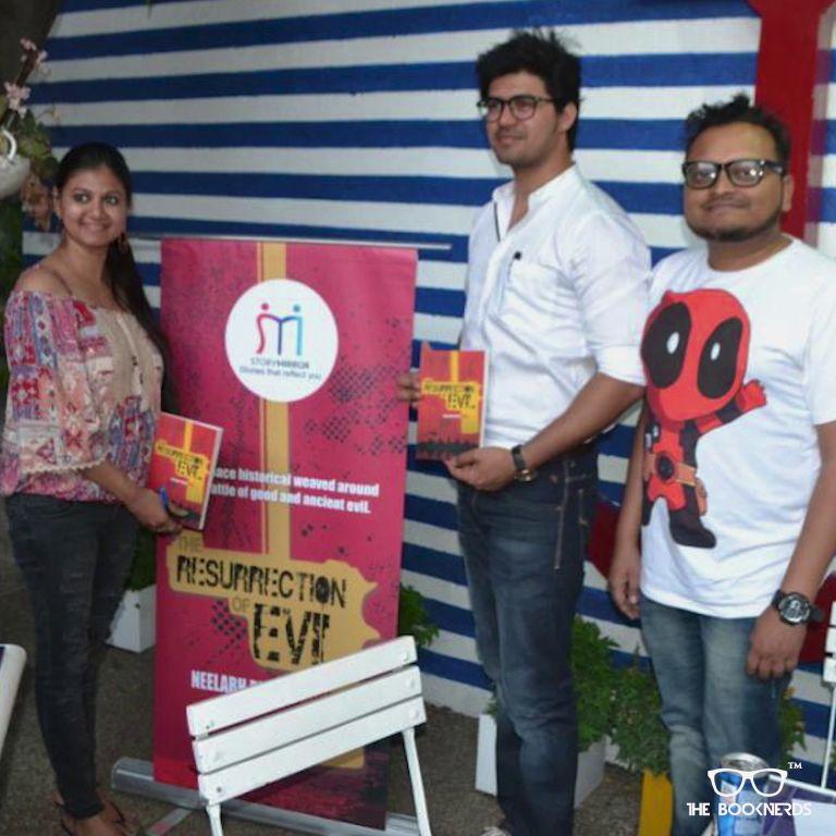 Throwback to Booknerds Hangout featuring author Neelabh Pratap Singh