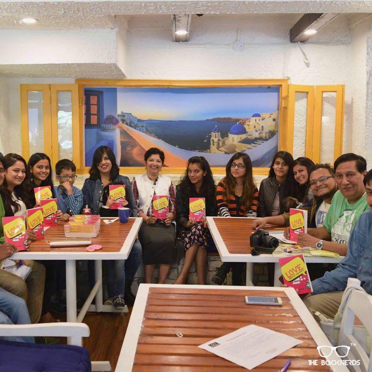 Throwback to The Booknerds Hangout featuring author Aditi Mathur Kumar