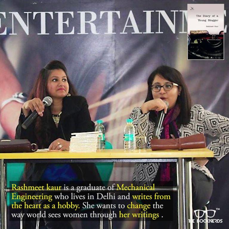 Throwback to The Booknerds Hangout featuring author Rashmeet Kaur