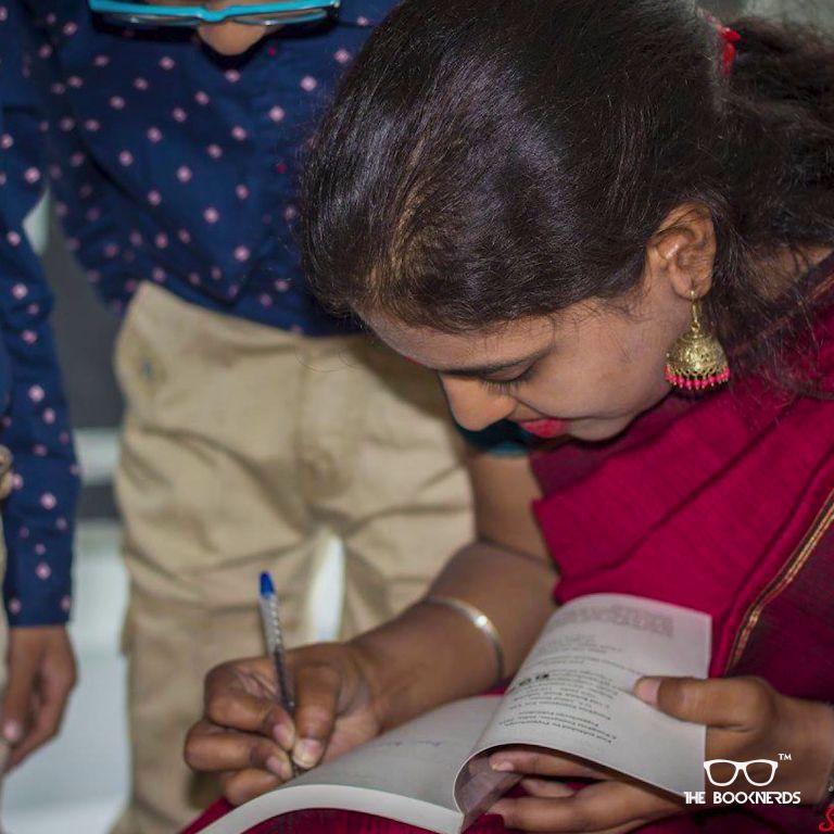 Throwback to The Booknerds Hangout featuring author Devika Das