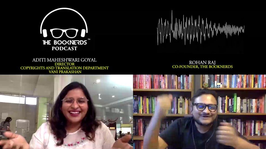 Booknerds Podcast featuring Aditi Maheshwari Goyal
